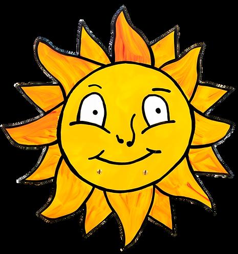 "Wandlampe ""Sonne"""