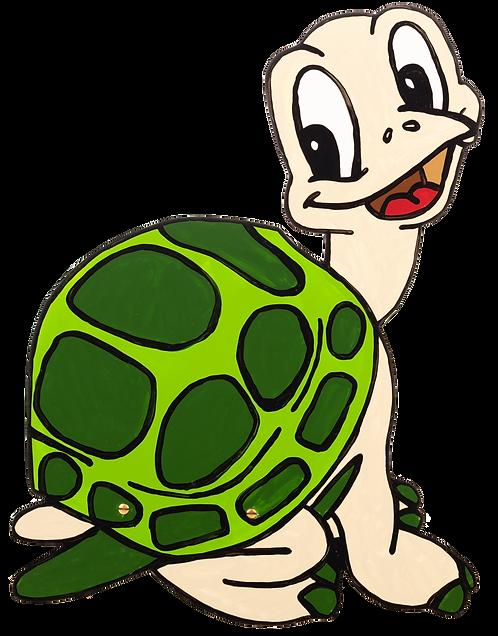 "Wandlampe ""Schildkröte grün"""