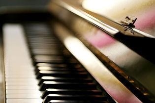 Klavier Nahaufnahme