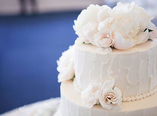 Abgestufte Hochzeitstorte
