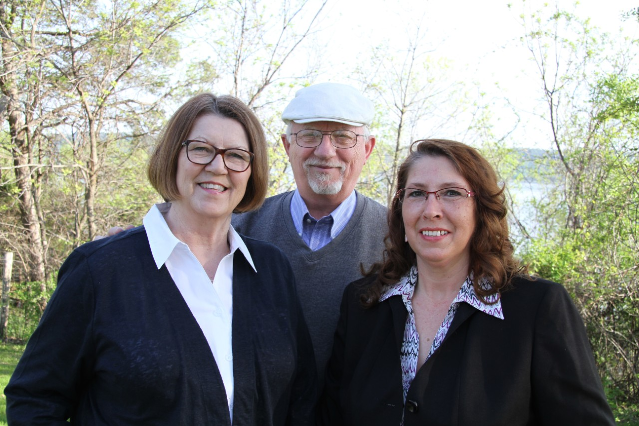 Linda Brassfield, Broker-Owner, David Brassfield, Broker-Owner,  Michele Holman, Assoc. Realtor