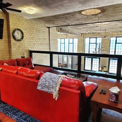 Maiden Rock Retreat couch