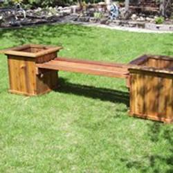 HBcedar bench