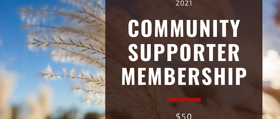 2021 SAMA Community Supporter Membership