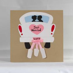 Wedding Car Thank You Card