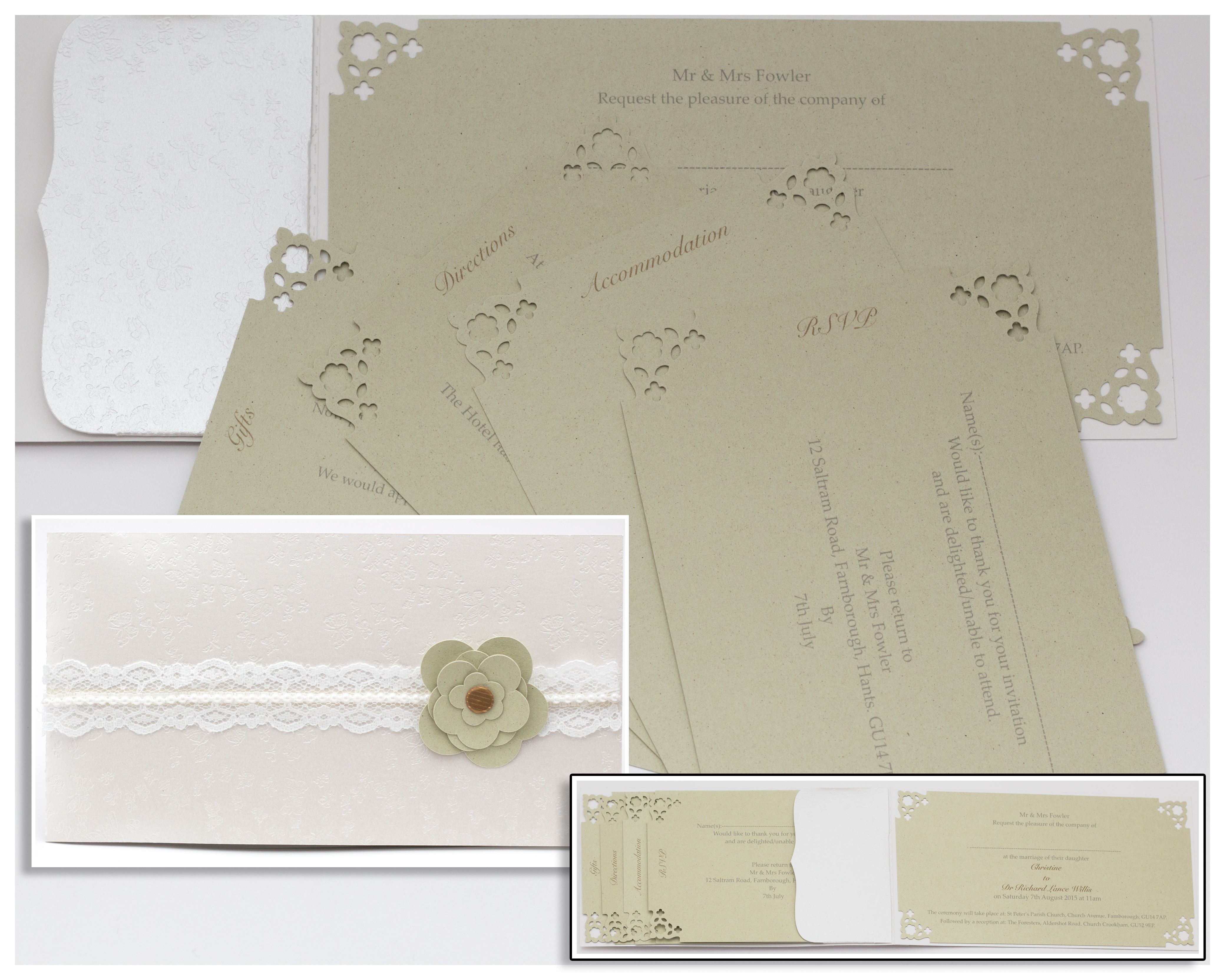Lucy Day Invitation