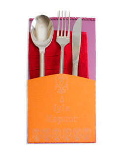 Cutlery Pocket/Place Card