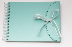 Ribbon Tied Guest Book