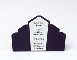 Art Deco Save the Date Magnet
