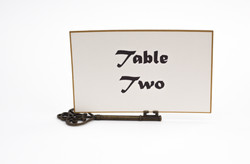 Simple Table Number