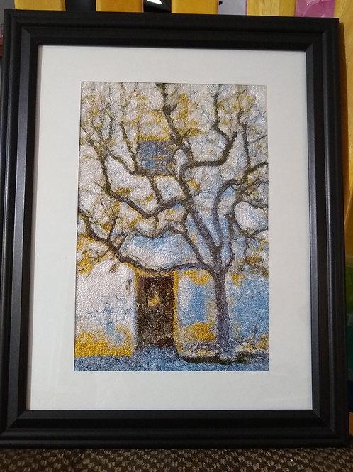 Cottage & Tree