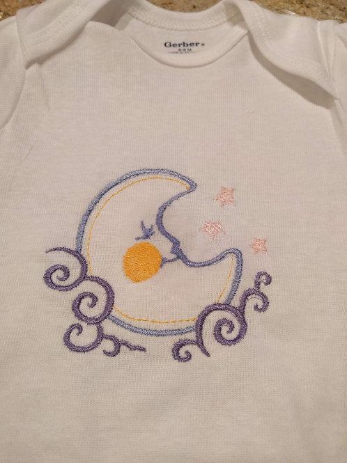 Embroidered Gerber Onsie