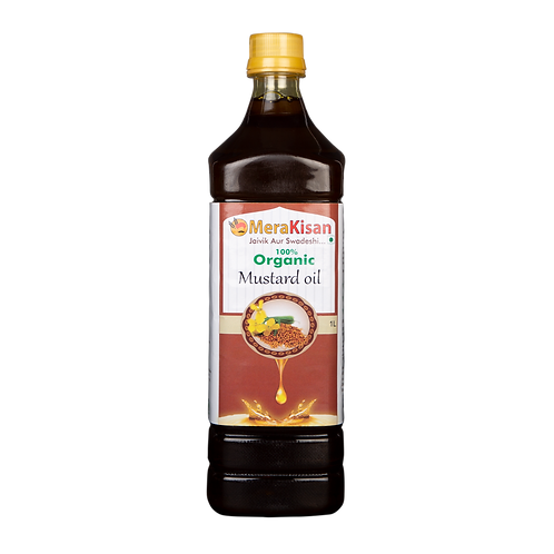 Cold Pressed Mustard Oil 1 ltr