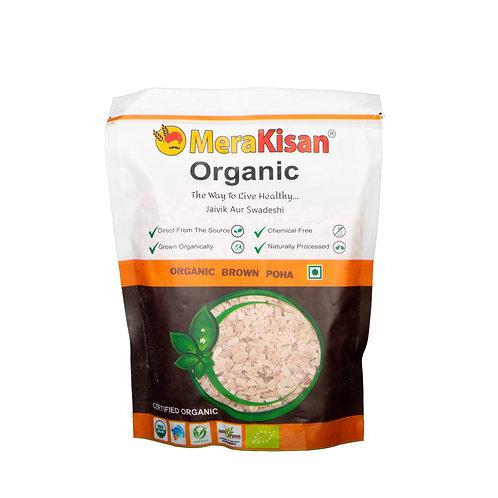 Organic Poha Brown 500 grams