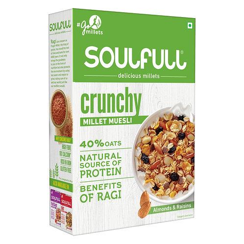 Millet based Muesli that's Crunchy in 400g pack