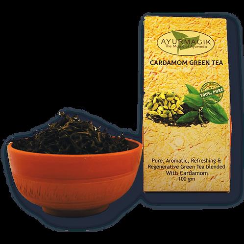 Cardamom Green Tea 100 grams