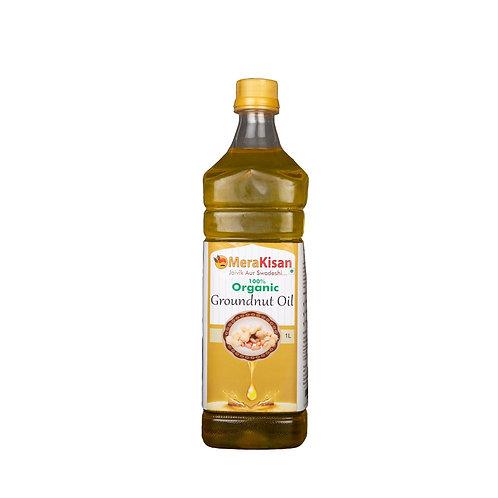 Organic C Old PressedGroundnut Oil 1ltr