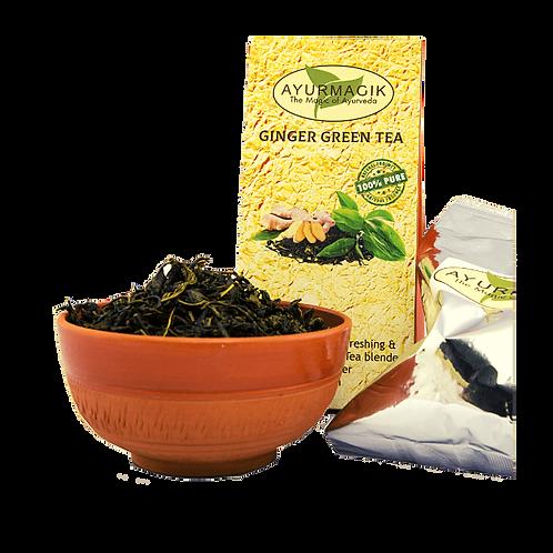 Ginger Green Tea 100 grams