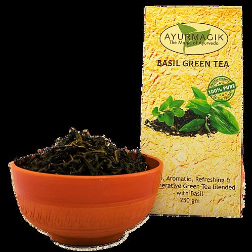 Basil Green Tea 200 grams
