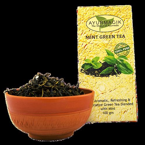 Mint Green Tea 200 grams