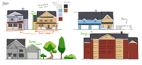 slamazon residential area concept art.pn
