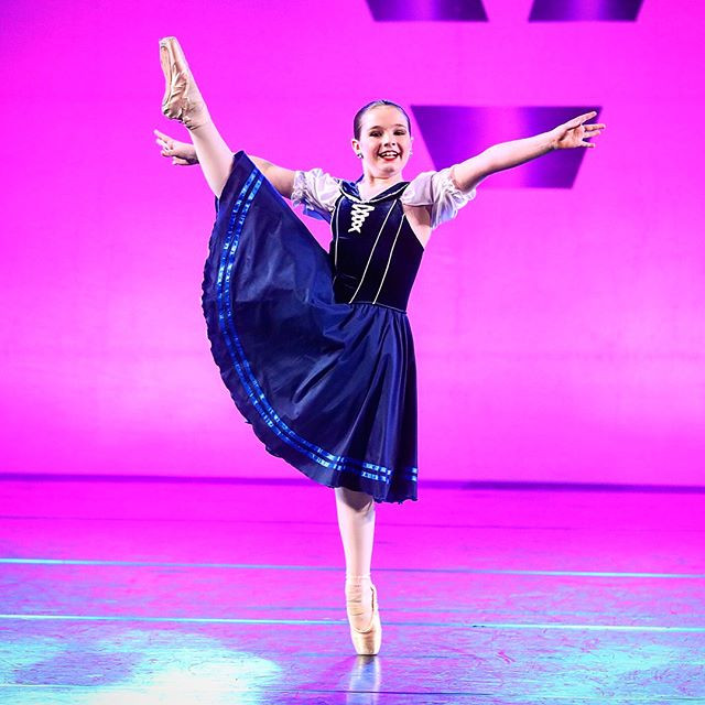 Performing my variation at YAGP in February 2018