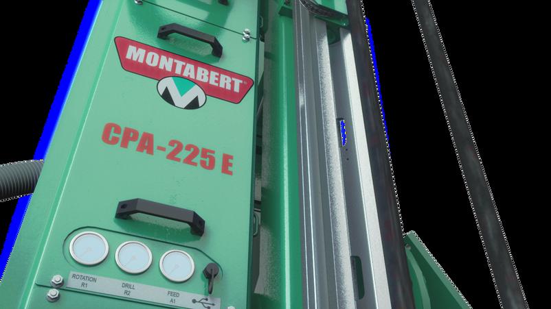 CPA 225E 3D Montabert