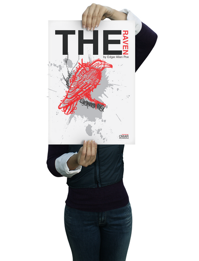 Poster Raven Front