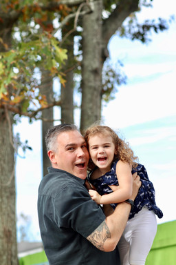 Daddy Daughter Portrai Session