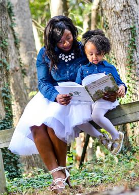 Mother Daughter Portrait Session