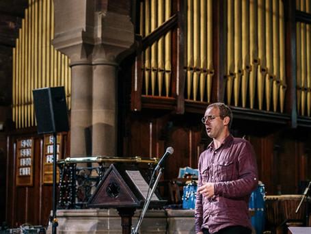 At St Agnes' Church, Longsight, Manchester