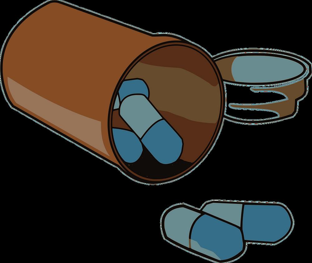 Medikamente gegen HIV (Schema)