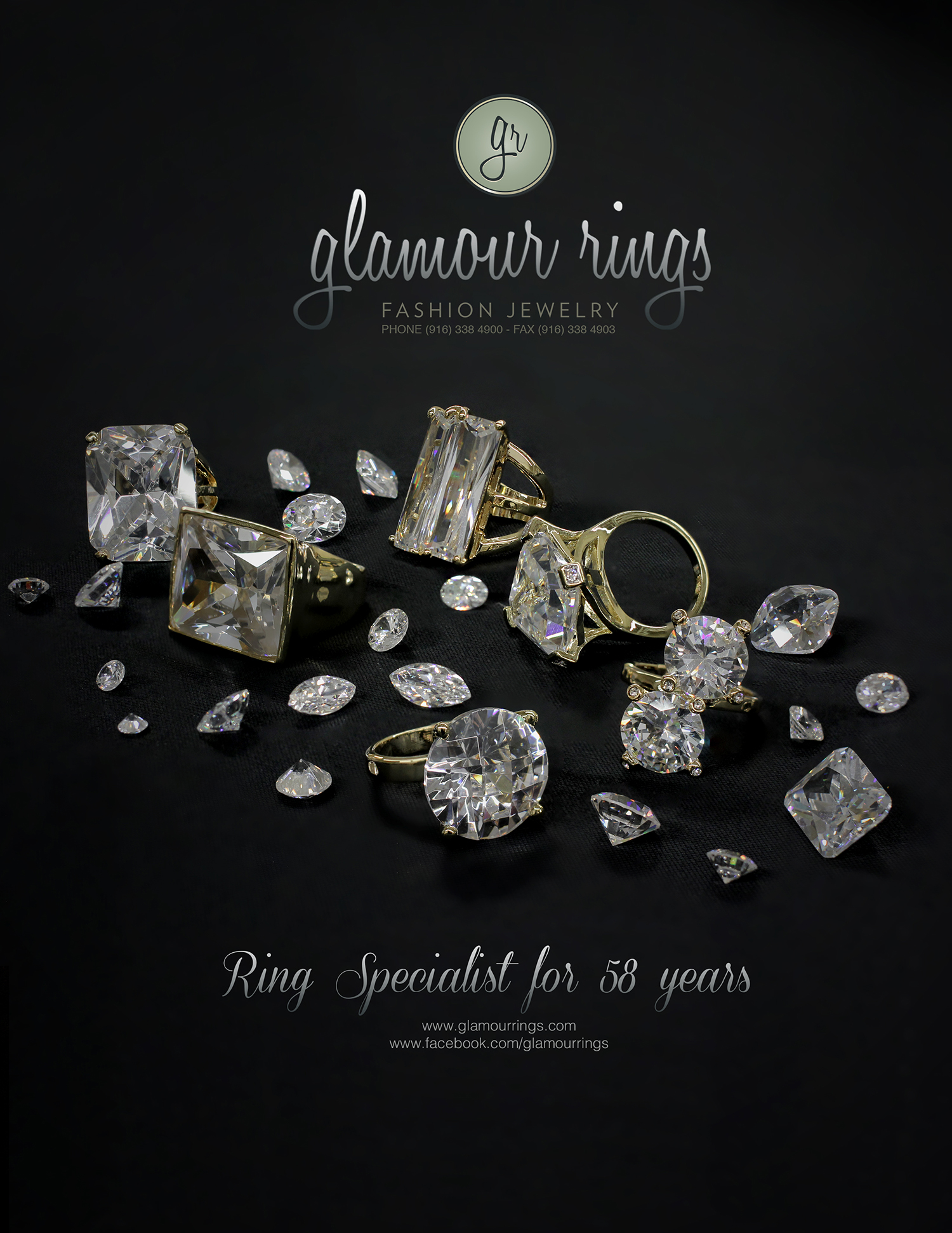 Glamour Rings Anniversary