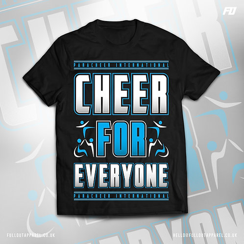 Cheer For Everyone Supporters T-shirt