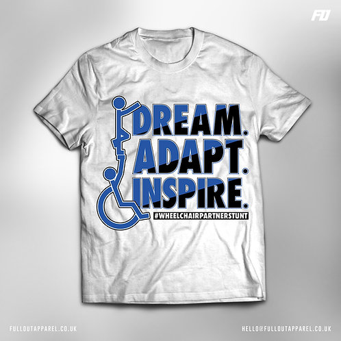 Dream.Adapt.Inspire Logo T-shirt