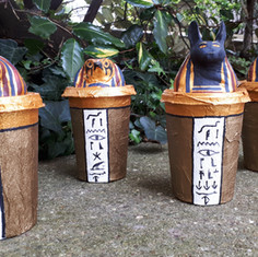 How To Make Canopic Jars - Ancient Egypt Craft for Kids