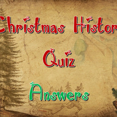 Christmas History Quiz Answers