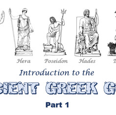 Ancient Greek Gods: A Beginners Guide - Parts 1, 2 & 3