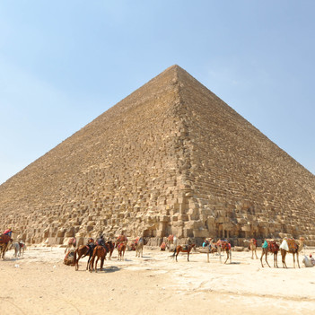 The Great Pyramid of Giza - Fun Facts for Kids