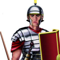 Roman Soldiers: Legionaries VS Auxiliaries - A Quick Guide for Kids
