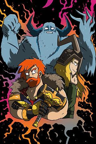 Mighty Myths Thor and Loki