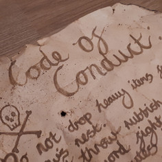 Pirate Code of Conduct - Guide & Craft Activity for Kids