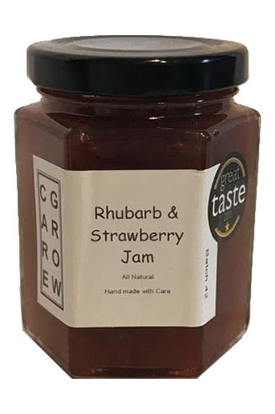 Rhubarb and Strawberry Jam