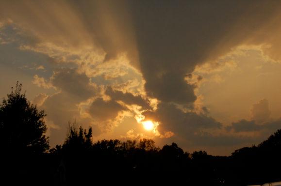 Sunset in CoMo