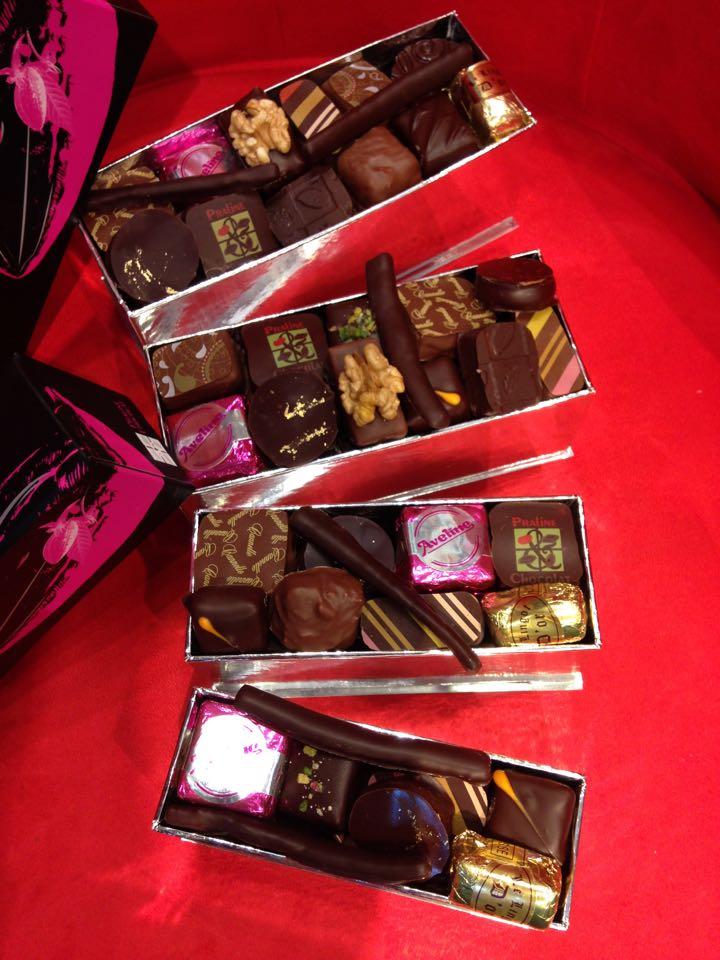 Nos ballotins de chocolats