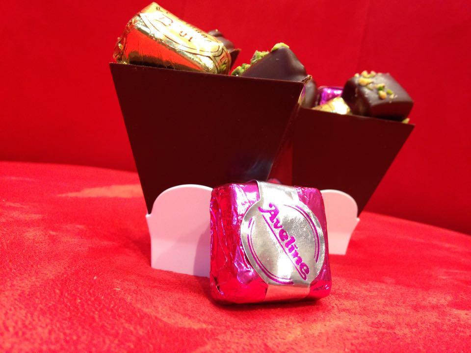Verrines en chocolat