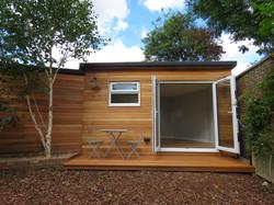 Cedar clad Summer House 1