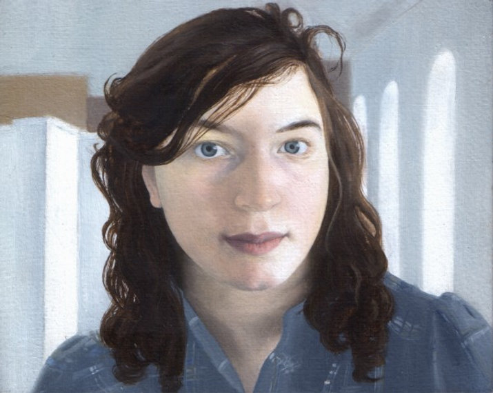 Hannah, Oil on Copper, 11.1 x 14 cm.jpg