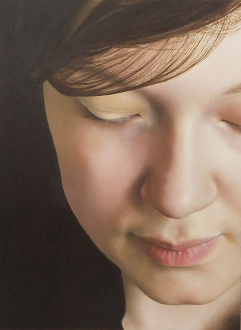 Hannah Smith, Oil on Copper, A5