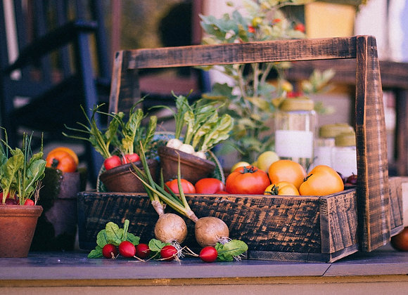 Mixed Organic Seasonal Vegetable Seed Bundle